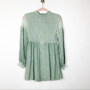 Altar'd State Tunic Top S #4902